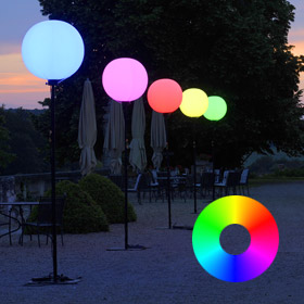 ballons éclairants événementiel