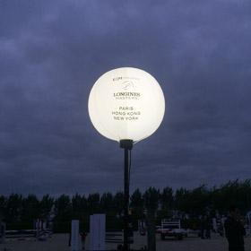 personnalisation ballon éclairants